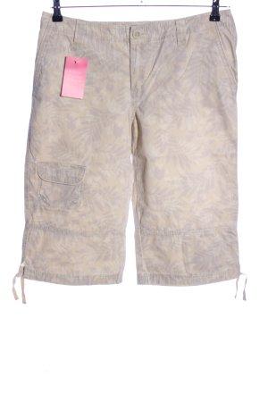 Eddie Bauer Bermuda bianco sporco-grigio chiaro stampa integrale stile casual