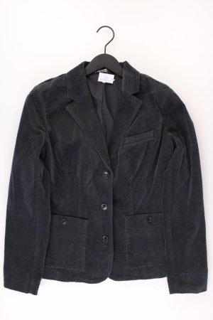 Eddie Bauer Cordblazer Größe US 10 schwarz aus Baumwolle