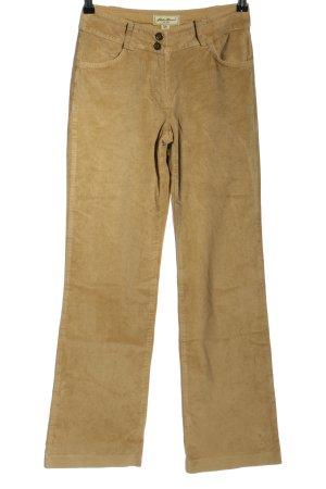 Eddie Bauer Pantalón de pana marrón look casual