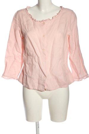 Eddie Bauer Hemd-Bluse pink Streifenmuster Casual-Look