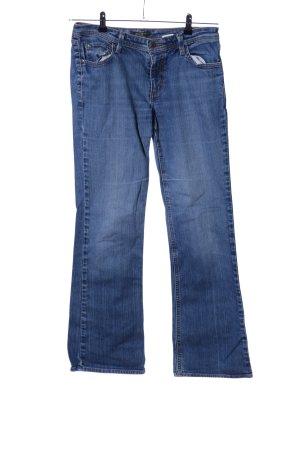 Eddie Bauer Jeansy z prostymi nogawkami niebieski W stylu casual