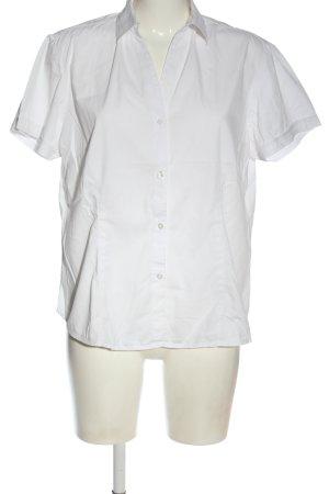 Eddie Bauer Camicia a maniche corte bianco stile professionale