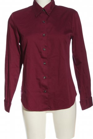 Eddie Bauer Long Sleeve Shirt red business style
