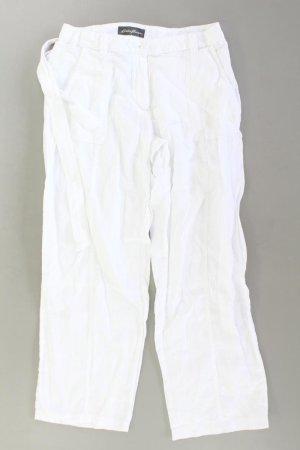 Eddie Bauer Leinenhose Größe 42 weiß