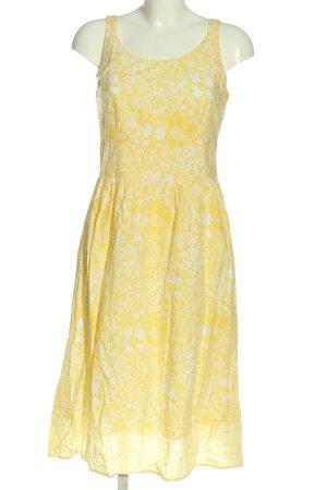Eddie Bauer Midi Dress primrose-white allover print casual look