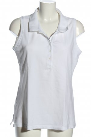 Eddie Bauer Polo Top white casual look