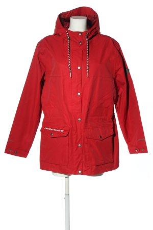 Eddie Bauer Impermeabile rosso stile casual