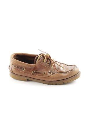 Eddie Bauer Zapatos de marinero color bronce look casual