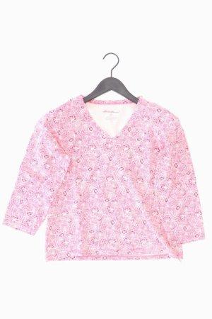 Eddie Bauer V-Neck Shirt light pink-pink-pink-neon pink cotton