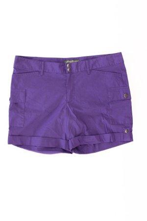 Eddie Bauer Shorts Größe 42 lila aus Baumwolle