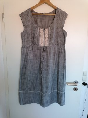 Eddie Bauer Empire Dress multicolored cotton