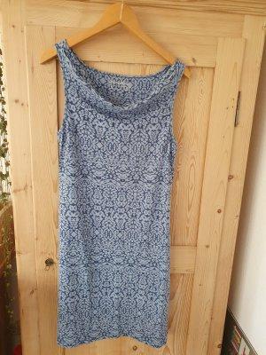 Eddie Bauer Jersey Dress cornflower blue