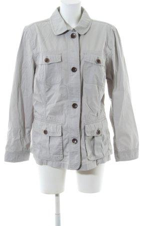 Eddie Bauer Between-Seasons Jacket light grey business style