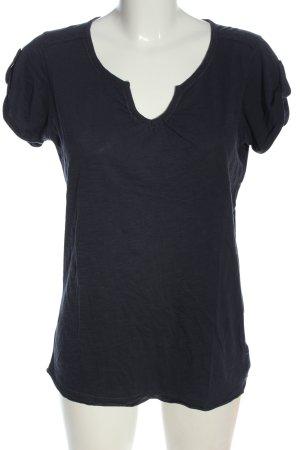 Eddie Bauer V-Ausschnitt-Shirt blau Casual-Look