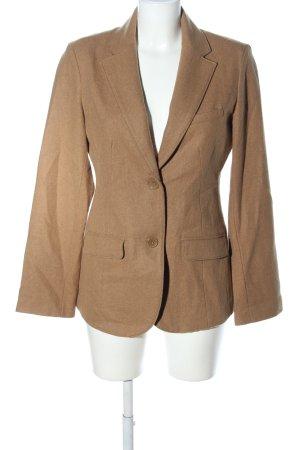 Eddie Bauer Wool Blazer bronze-colored flecked casual look