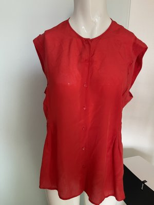 See by Chloé Blusa in seta rosso