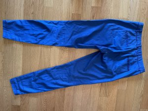 René Lezard Pantalone chino blu acciaio