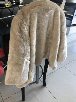 Monari Fur Jacket cream fur