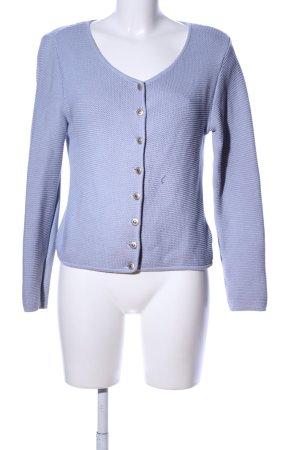 Edel Herz Strick Cardigan blau Casual-Look
