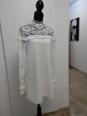 edel Hippie Tunika Mini Dress Spitzenkleid Hochzeitskleid Spitze Kleid Blogger