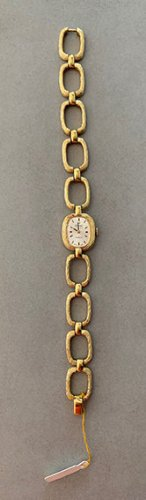 Edel & Original! Damen-Armbanduhr von PRECIMAX    Gold Plated 10 Micron