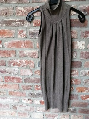 Just Woman Stretch Dress silver-colored-grey