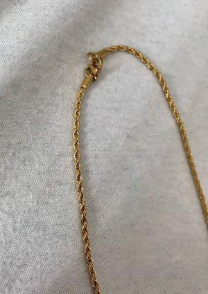 Edel-Stahl Goldkette| Twisted Unisex