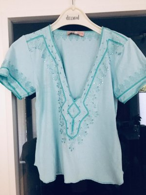 Amor & Psyche T-shirt bleu clair-bleu clair