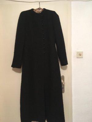 Armani Collezioni Manteau en laine noir laine