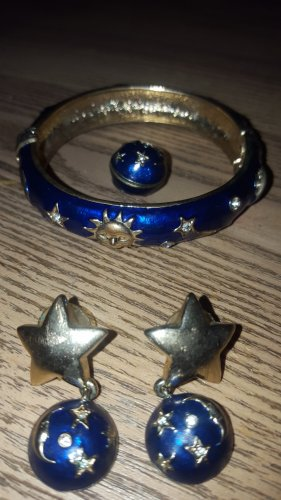 Armlet gold-colored-blue