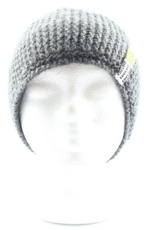 EDELRID Crochet Cap light grey casual look