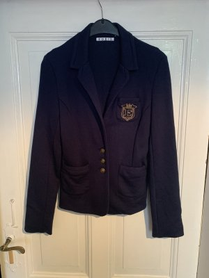 Edel's Boutique Blazer en jersey bleu foncé