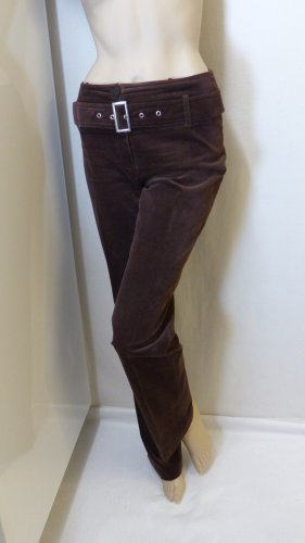 Apanage Jersey Pants dark brown cotton