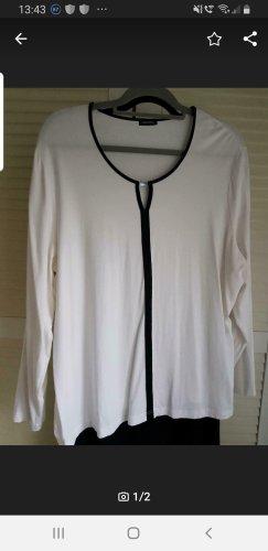 Gerry Weber Camicia a tunica nero-bianco sporco