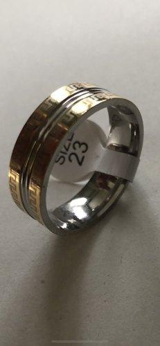 Anello di fidanzamento oro-argento