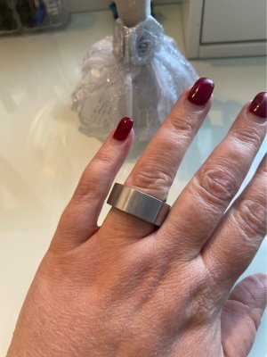 0039 Italy Zilveren ring zilver