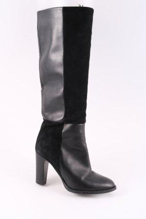 Eden Absatz Stiefel schwarz Casual-Look