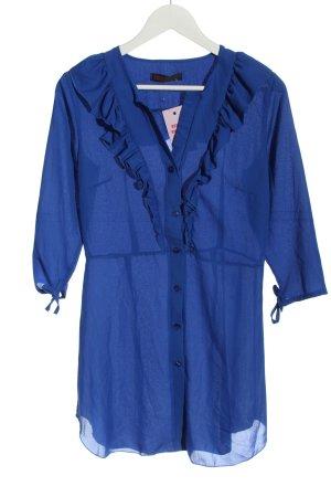 Edge Street Robe chemise bleu élégant
