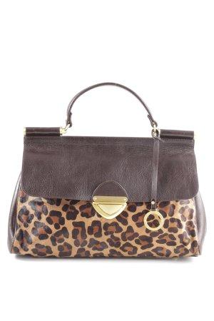 Edina Ronay Draagtas luipaardprint elegant