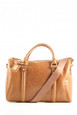 Edina Ronay Henkeltasche braun Business-Look