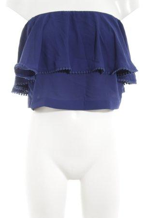 Edited ärmellose Bluse blau Casual-Look