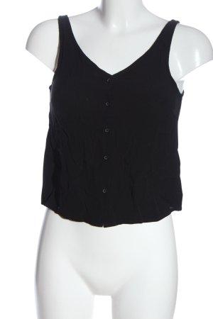 Edited Basic topje zwart casual uitstraling