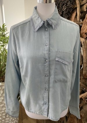 EDITED Bluse Hemd Denim Fransen BLOGGER Gr.38 TOP