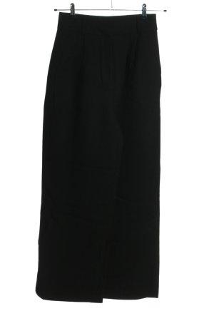 Edited Pantalón de pinza negro look casual