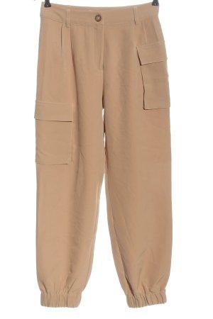 Edited Pantalone cargo color carne stile casual