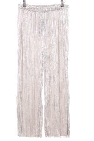 Edited Pantalone culotte bianco sporco-argento Poliestere