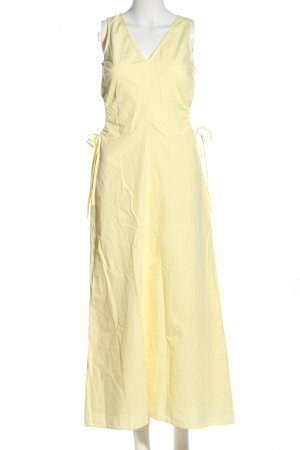 Edited Abito cut out giallo pallido stile casual