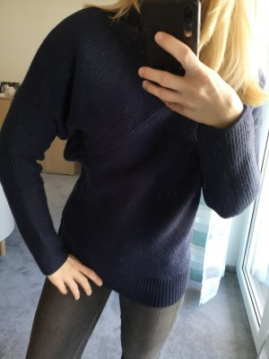 Edited Wool Sweater dark blue