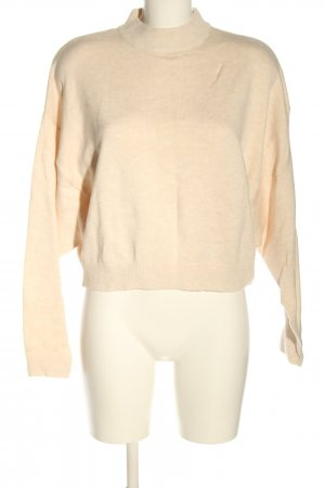 Edited Feinstrickpullover creme Casual-Look