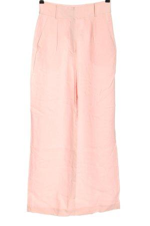Edited High-Waist Hose pink Casual-Look